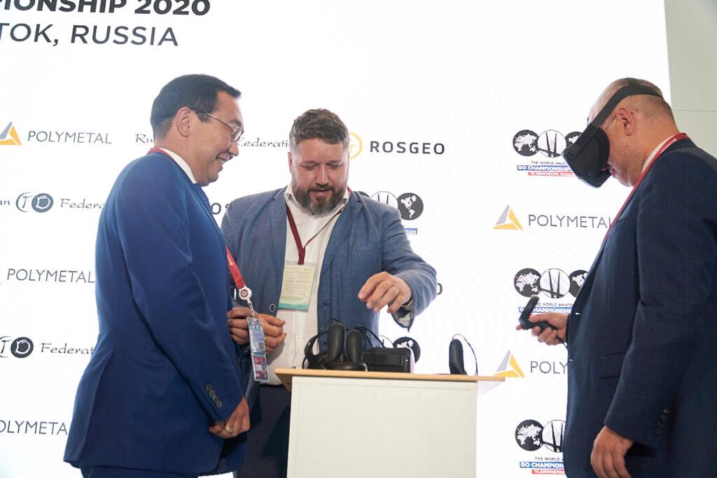 презентация платформы Го в VR на Восточном экономическом форуме